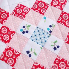 Great Granny Squared Quilt
