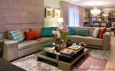Pequenas, aconchegantes e muito elegantes!     A maioria das casas e dos apartamentos são compactos! Ideias para as famílias modernas, c...