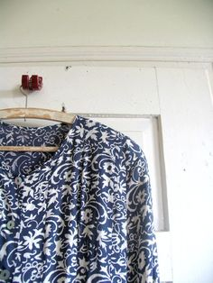 vintade dress 80sdressfloral by artwardrobe on Etsy, $22.00