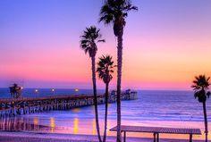 Pastel Sunset, Huntington Beach, California