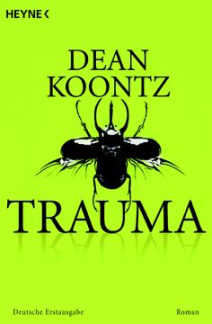 """""""Trauma"""" by Dean Koontz  (in German, 480 pages, paperback)"""