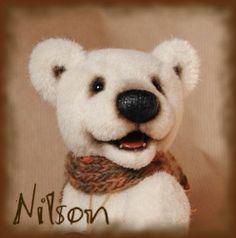 """Nilson by Monika Stein Stein Bears Small OOAK Artist Bear 7""""   eBay"""