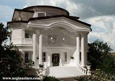 طراحی-و-ساخت-ویلا Modern Villa Design, Places To Visit, Mansions, House Styles, Home Decor, House, Mansion Houses, Homemade Home Decor, Manor Houses