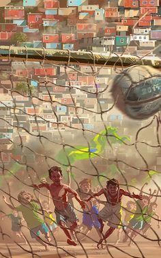 private 2014 on Behance by Wojciech Ostrycharz Football Art Football, Street Football, Goals Football, Madrid Football, Soccer Art, Football Love, Football Is Life, Football Stadiums, Football Motivation
