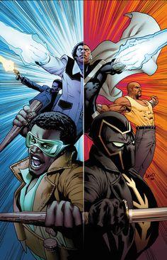 Dibujo de Greg Land para la portada de Mighty Avengers v2, 12, incluido en el cómic Poderosos Vengadores 11.  http://www.paninicomics.es/web/guest/preview_marvel?id=87224