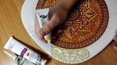 1 million+ Stunning Free Images to Use Anywhere Mandala Painting, Dot Painting, Painting Tips, Mandala Art, Zentangle, Free To Use Images, Wine Bottle Crafts, Ceramic Decor, Stained Glass Art