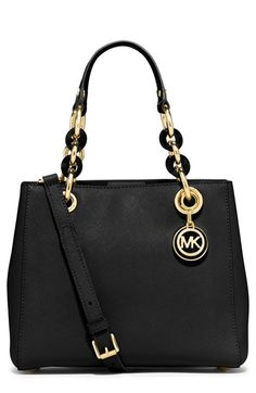MICHAEL Michael Kors 'Small Cynthia' Satchel available at #Nordstrom