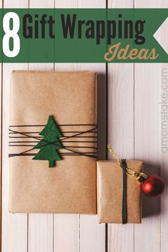 Unique ways to wrap your Christmas gifts from parchment paper and twine to the Sunday comics and more ideas in-between. Great inexpensive ways to wrap a gift!