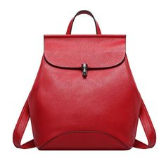 cfe5484b91 Zency Soft Genuine Cow Leather Women Backpack Natural Real Leather