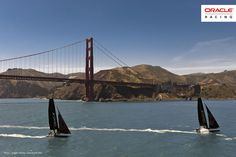 ORACLE TEAM USA and the Golden Gate Bridge