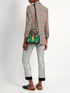 b075d304613d Sylvie mini floral-jacquard shoulder bag #fashion #pandafashion #evening # gucci