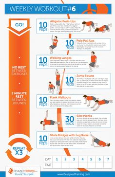 Weekly Workout #6