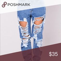Denim Jeans Distressed Denim Fashion Nova Jeans Boyfriend