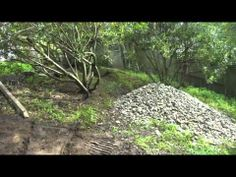 Leveling Areas In A Sloping Backyard Sloping Backyard, Landscaping A Slope, Yard Drainage, Dry Creek Bed, The Other Side, Beautiful Gardens, Outdoor Living, Garden Ideas, Beds