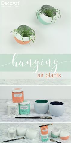 Inject some style into your houseplants with a quick DIY.