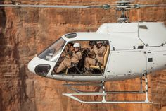 Take a #helicopter tour over the #GrandCanyon West Rim then visit a gun range where you can shoot a .50-caliber and fire a wide range of fully automatic machine guns and specialty weapons.