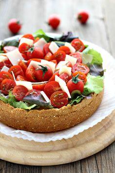 Cheesecake salata al parmigiano reggiano | Chiarapassion (Taralli are toroidal Italian snack foods)