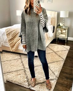 Casual Outfits NM Boutique Teacher Outfits Ideas For Women NM Boutique Women Outfits 2020 Outfits Inspiration, Mode Inspiration, Cardigan Outfits, Dress Outfits, Outfits With Ponchos, Leopard Cardigan Outfit, Poncho Outfit, Legging Outfits, Dresses