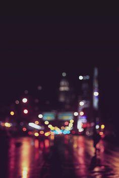 The city on the last night