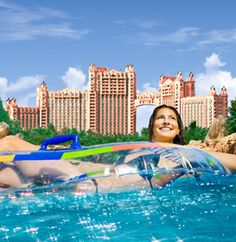 """The Atlantis Hotel and Resort in the Bahamas!! On the very tip-top of my to travel to list!!! Watch the movie """"Holiday in the Sun"""", it will make you want to go there!!!!"""