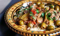 Recette : Tajine d'agneau aux citrons confits et olives vertes par Pretty Chef.fr
