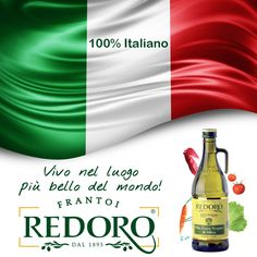 We live on the best lovely place in the World - 100% Italiano - 100% Redoro http://www.redoro.it
