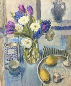 French still life . pastel . Felicity House PS