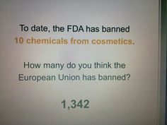 Arbonne products follow European standards - another reason why I love them so much.