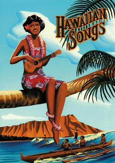 Hawaiian Art, Vintage Hawaiian, Aloha Vintage, Tahiti, Hawaii Hula, Oahu Hawaii, Polynesian Art, Vintage Tiki, Surfing Photos