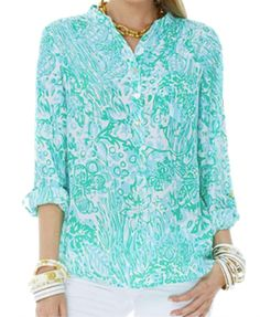 Lilly Pulitzer Resort '13- Delray Tunic in Bungle in the Jungle