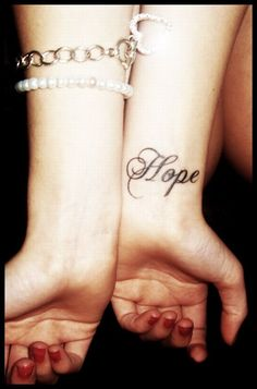 Exactly where and what I want if I get a tattoo. #Hope