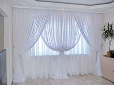 ke: Ak vás trápia vrásky na dekolte, toto ich Tulle Curtains, Elegant Curtains, Minimalist Landscape, Laundry Hacks, Dinning Table, Bedroom Vintage, Diy And Crafts, Cleaning, Cool Stuff