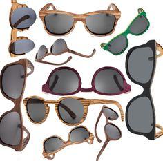 #Montura fabricada a mano compuesta de Madera Cherry. Las #gafas de madera, con diseño retro, son una de las grandes tendencias en el sector.