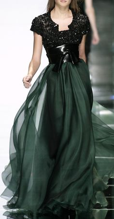 Has Elie Saab ever conceived of or designed a less than extraordinary dress for a woman? I dont think its possible. The man is a womans best friend. ELIE SAAB ~ Gorgeous !  Women's Dresses - Dress for Women - http://amzn.to/2j7a1wP