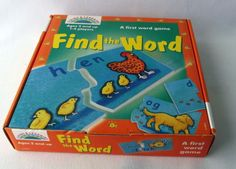 Find the Word Pre-School Games - Perfect for K-3 aged kids!