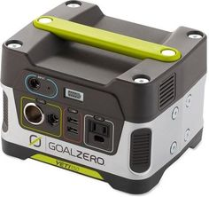A plug-and-play, gas-free mini powerhouse, the Goal Zero Yeti 150 solar generator cranks out portable power to keep your lights, phones and laptops ju. - A Life in Alaska - Camping World Solar Energy Panels, Solar Panels For Home, Best Solar Panels, Mini Solar Panel, Portable Power Generator, Solar Generator, Portable Solar Power, Camping Generator, Portable Sink