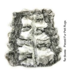 Gray Wolf Faux Fur Area Rug Pieced Fur Pelt Rug Collection Gray Shag... ($140) ❤ liked on Polyvore featuring home, rugs, floor & rugs, grey, home & living, faux fur rug, faux animal rug, fake fur rugs, black shag rug and grey rug