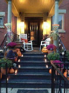 My front porch. Autumn delight