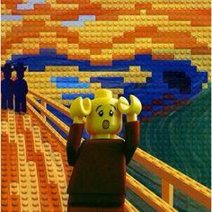The Lego scream ~ Hah ha
