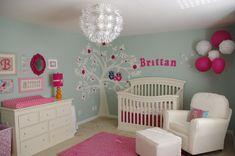 girl nursery paint ideas | ... of Choose Baby Girl Nursery Ideas for Your Beautiful Little Girl
