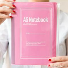 #pink #notebook with zip