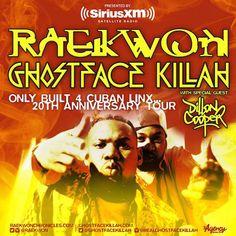 Raekwon Announces 'Only Built 4 Cuban Linx' 20th Anniversary Tour w/ Ghostface Killah