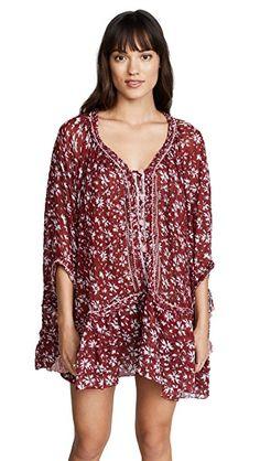 4638ed74f10 POUPETTE ST BARTH FLEUR PONCHO DRESS.  poupettestbarth  cloth