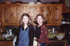 A photo of me and Laura - circa 1975 at Turkey Hill