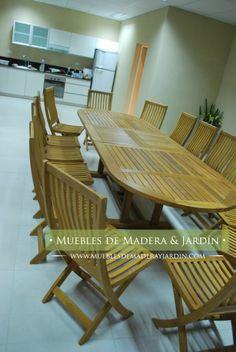 mesas ovaladas