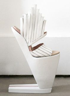 Conceptual Footwear Design - architectural shoes; fashion as art // Carolin Holzhuber