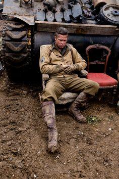 WWII Movies - Fury (2014) - Brad Pitt