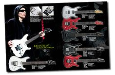 Joe Satriani Ibanez Guitars