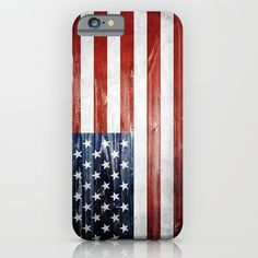 #iphone #case #iphonecase #iphone6 #usa #america #wooden #flag