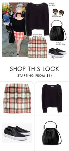 """Get The Look: Perrie Edwards"" by mplusk ❤ liked on Polyvore featuring River Island, MANGO, Vans and H&M"
